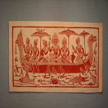 Rubbing from Temples of Angkor Wat